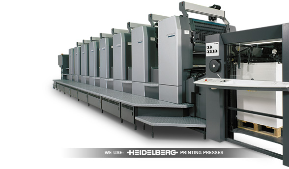 Full Color Printing Press Heidelberg Press